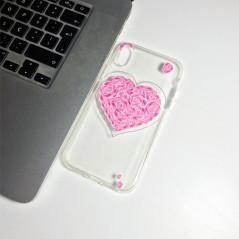 Capa Gel Coração iPhone XR