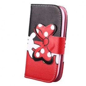 Capa Flip Minnie Galaxy S Duos