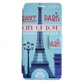 Capa Flip Paris Smart A70
