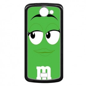 Capa M&M Verde Aquaris 5 HD