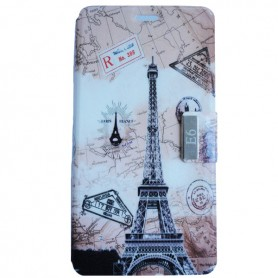 Capa Flip Paris 2 Aquaris E6