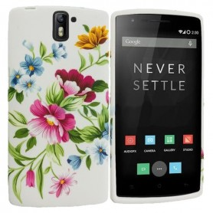 Capa Flores 2 OnePlus One