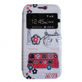 Capa Flip Londres Galaxy Core 2