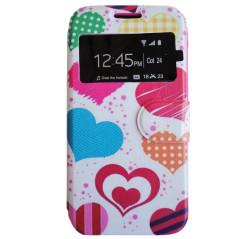 Capa Flip Corações Galaxy S5