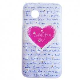 Capa Gel Love Smart A16