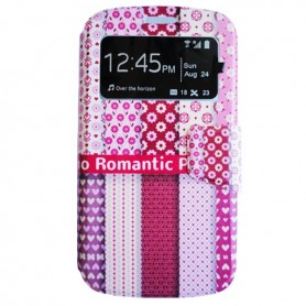Capa Flip Romantic One Touch Pop 2 / Roya