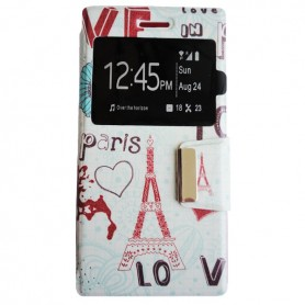 Capa Flip Paris Ridge 4G