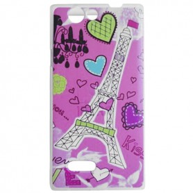 Capa Gel Paris Smart A75