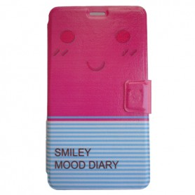 Capa Flip Smile Galaxy Note Edge