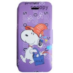 Capa Flip Snoopy iPhone 5c
