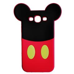 Capa Silicone Mickey Galaxy Core Prime