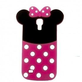 Capa Silicone Minnie Galaxy S4 Mini