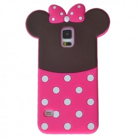 Capa Silicone Minnie Galaxy S5