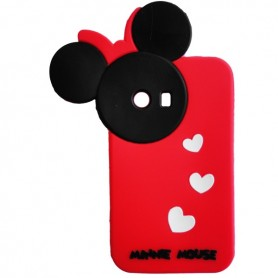 Capa Silicone Minnie Galaxy Y