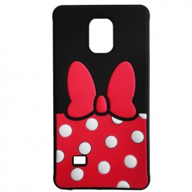 Capa Silicone Minnie Galaxy Note 4