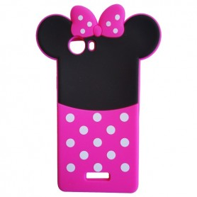 Capa Silicone Minnie Ridge 4G