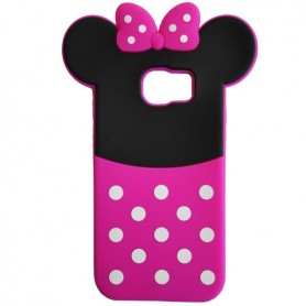 Capa Silicone Minnie Galaxy S6