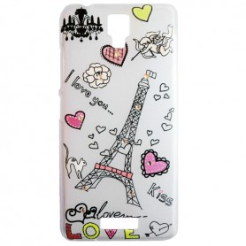 Capa Gel Love Smart A65