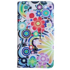 Capa Flip Flores Lumia 635