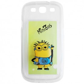 Capa Gel Minion Galaxy S3 / Neo