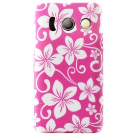 Capa Gel Flores 2 Ascend Y300