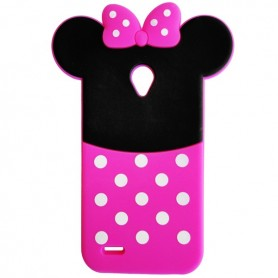 Capa Silicone Minnie Smart Prime 6