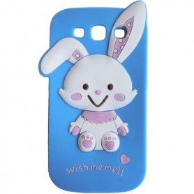 Capa Rabbit Cartoon Galaxy S3