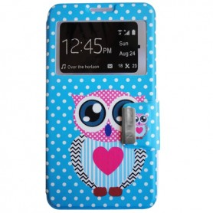 Capa Flip Coruja 2 Galaxy Note 3