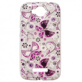 Capa Gel Borboletas One Touch Pop C7