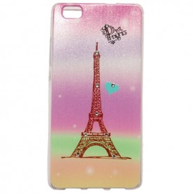 Capa Gel Paris Ascend P8 Lite