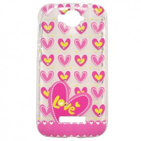 Capa Gel Love One Touch Pop C7