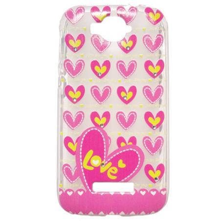 Capa Gel Love One Touch Pop C7