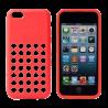 Capa Silicone Buracos Iphone 5/5s/5c