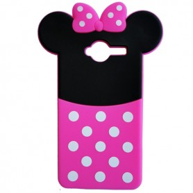 Capa Silicone Minnie Smart A80