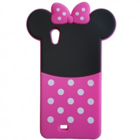 Capa Silicone Minnie Smart A66
