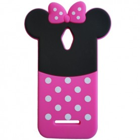 Capa Silicone Minnie Smart 4