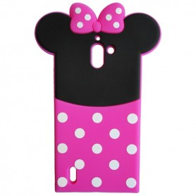 Capa Silicone Minnie Ascend Y625
