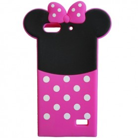 Capa Silicone Minnie Ascend G Play Mini / Dual / Honor 4C / G650