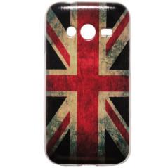 Capa Gel Reino Unido Galaxy Ace 4 / Trend 2 / Duos / LTE / Lite / V Plus / S Duos 3