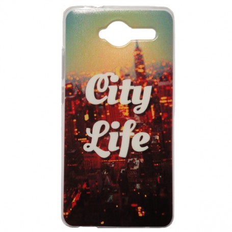 Capa Gel City Life Smart A80