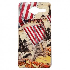 Capa Gel New York Smart A80