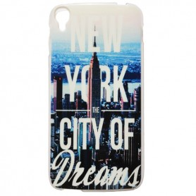 Capa Gel New York One Touch Idol 3 5.5