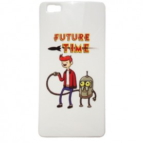 Capa Gel Futurama Ascend P8 Lite