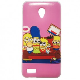 Capa Gel Simpson Smart Prime 6
