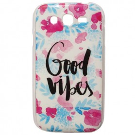 Capa Gel Good Vibes Galaxy Grand / Neo / Duos
