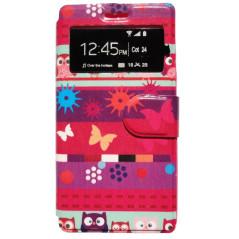 Capa Flip Borboletas Galaxy S Duos / 2 / Trend / Plus