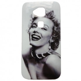 Capa Gel Marilyn Monroe Ascend G8