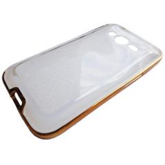 Capa Gel Brilhantes Frame Galaxy Ace 4 / Trend 2 / Duos / LTE / Lite / V Plus / S Duos 3 / G313 / G318
