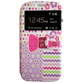 Capa Flip Londres Galaxy Young 2