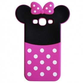 Capa Silicone Minnie Galaxy J1